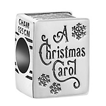 Chamilia Sterling Silver A Christmas Carol Book Bead - Product number 8128065