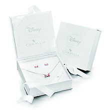 Chamilia Disney Minnie Mouse Bow Necklace & Earrings Set - Product number 8128413