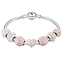 Chamilia Sterling Silver 7 Bead Bracelet - Product number 8128820