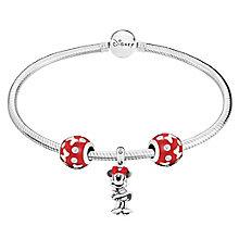Chamilia Disney Classics Minnie Charm Bracelet Set - Product number 8128855