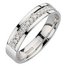 18ct white gold third carat diamond ring - Product number 8129517