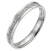Platinum diamond wedding ring. - Product number 8129789