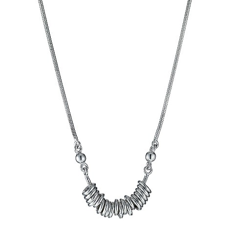 De Montfort silver candy style necklace