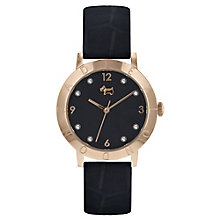 Radley Ladies' Black Leather Strap Watch - Product number 8140731