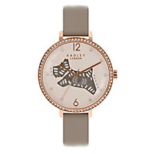 Radley Ladies' Grey Leather Strap Watch - Product number 8140804