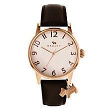 Radley Ladies' Black Leather Strap Watch - Product number 8140820
