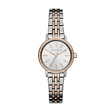 Armani Exchange Ladies' Two Tone Steel Bracelet Watch - Product number 8145067