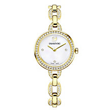 Swarovski Yellow Gold Tone Aila Mini Bracelet Watch - Product number 8145636