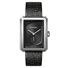 Chanel Boyfriend Tweed Black Stainless Steel Bracelet Watch - Product number 8145679