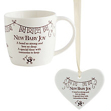 New Baby Joy Mug & Decoration Gift Set - Product number 8145741