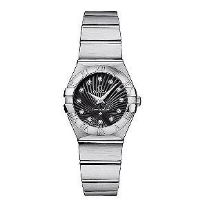 Omega Constellation ladies' chronometer bracelet watch - Product number 8146594