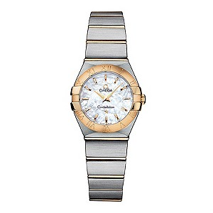 Omega Constellation ladies' chronometer bracelet watch - Product number 8146608