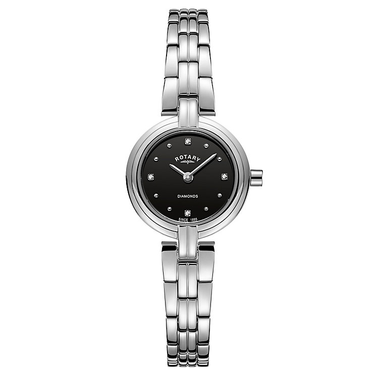 Rotary Ladies' Stainless Steel Bracelet Watch - Product number 8147604