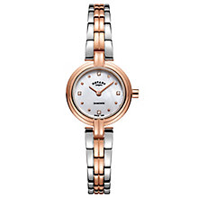 Rotary Ladies' Two Colour Stainless Steel Bracelet Watch - Product number 8147612