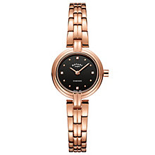 Rotary Ladies' Rose Gold Plated Steel Bracelet Watch - Product number 8147620