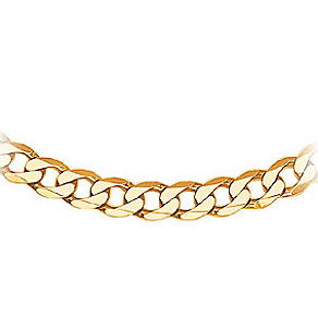 Men's Gold Curb Chain 20
