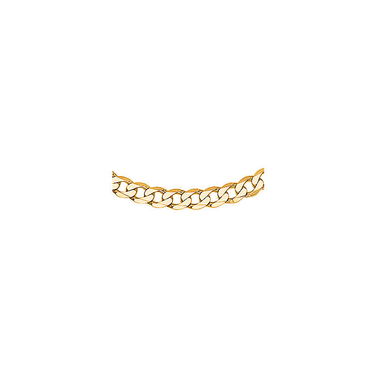 """Men's Gold Curb Chain 20"""" - Product number 8151490"""