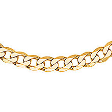 "Men's Gold Curb Chain 20"" - Product number 8151490"