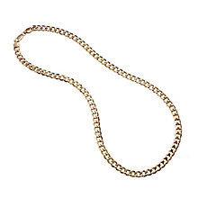 "9ct Yellow Gold Curb Chain 24"" - Product number 8151725"
