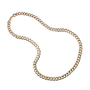 "Men's 9ct Gold Curb Chain 22"" - Product number 8151792"