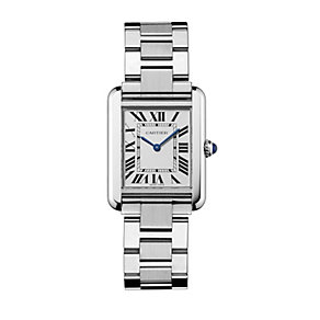 Cartier Tank Solo ladies' stainless steel bracelet watch - Product number 8152896