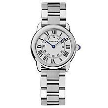Cartier Ronde Solo ladies' stainless steel bracelet watch - Product number 8152926