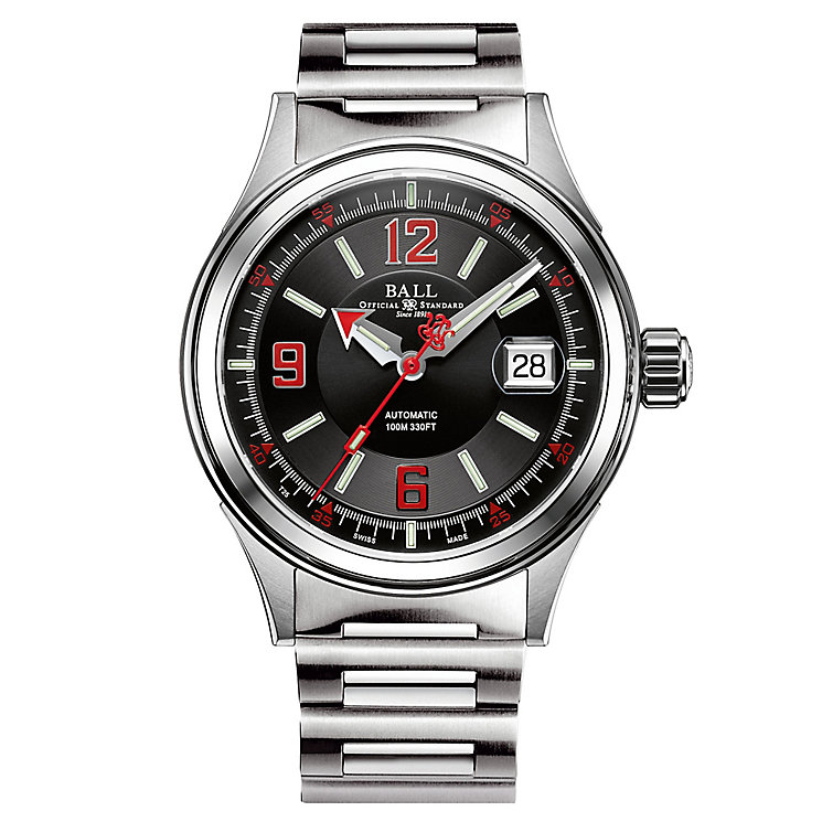 Ball Fireman Racer Men's Stainless Steel Bracelet Watch