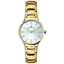 Accurist Ladies' Gold Plated Stainless Steel Bracelet Watch - Product number 8157995