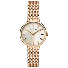 Accurist Ladies' Rose Gold Mesh Bracelet Watch - Product number 8158436