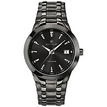 Accurist Men's Black Stainless Steel Bracelet Watch - Product number 8158479
