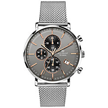 Accurist Men's Stainless Steel Mesh Bracelet Watch - Product number 8158517