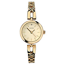 Sekonda Ladies' Gold Plated Stainless Steel Bracelet Watch - Product number 8158576