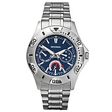 Sekonda Men's Blue Dial Stainless Steel Bracelet Watch - Product number 8158665