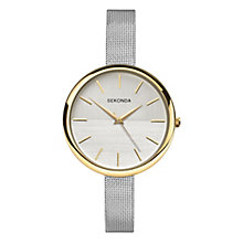 Sekonda Editions Ladies' Stainless Steel Mesh Bracelet Watch - Product number 8158762