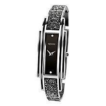 Seksy Ladies' Black & Silver Bracelet Strap Watch - Product number 8158878