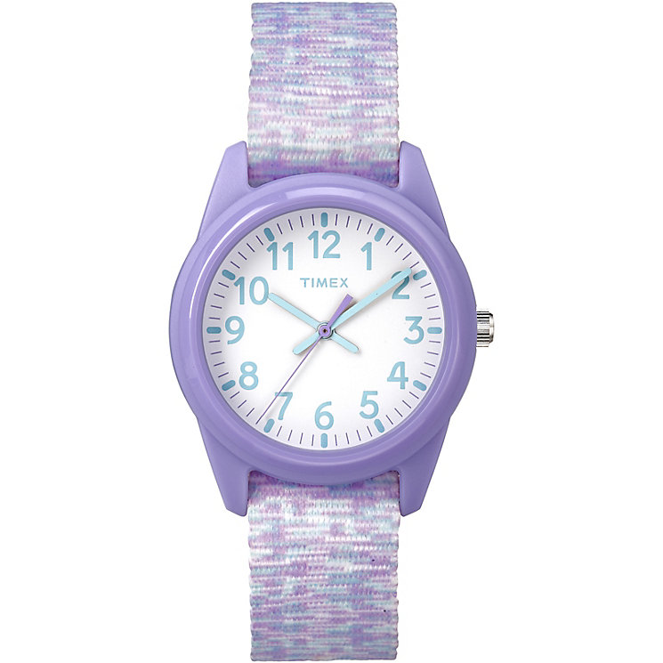 Timex Time Machines™ Children's Purple Nylon Strap Watch - Product number 8163545
