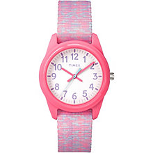 Timex Time Machines™ Children's Pink Nylon Strap Watch - Product number 8163553
