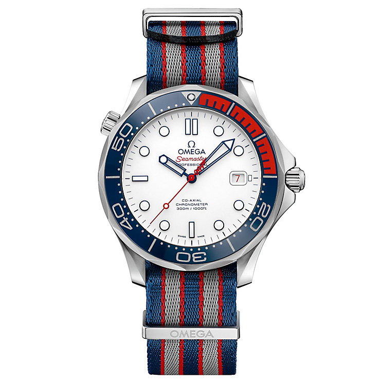 Omega Seamaster Commander Men's Stainless Steel Strap Watch - Product number 8165483