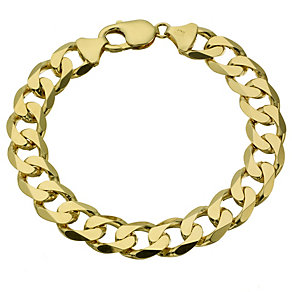 Men's 9ct yellow gold 8.5