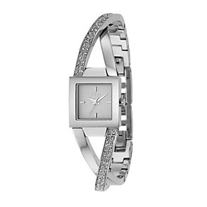 DKNY ladies' stone set bangle watch - Product number 8181853