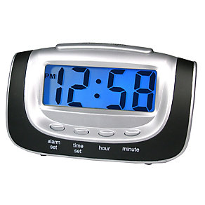 Large LCD Alarm Clock - Product number 8182019