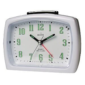 Isa White Alarm Clock