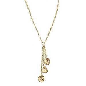 Italian Knots - 9ct Yellow Gold Three Knot Necklace