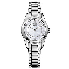 Hugo Boss Ladies' Stainless Steel Mother of Pearl Watch - Product number 8185948