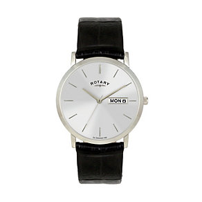 Rotary Men's Black Strap Watch - Product number 8186219