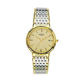 Rotary Men's Two Tone Bracelet Watch - Product number 8186545