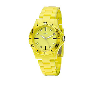 Oasis Ladies' Yellow Bracelet Watch - Product number 8186618