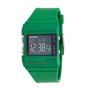 Diesel Men's Green Rubber Strap Watch - Product number 8187150