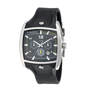 Diesel Men's Black Rubber Strap Watch - Product number 8187177