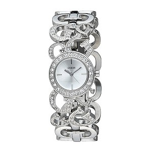 Guess Jumbelina Stone Set Bracelet Watch